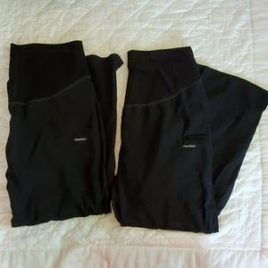 2 pair Cherokee maternity scrub pants size L